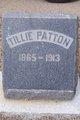 "Matilda Jane ""Tillie"" <I>Samms</I> Patton"