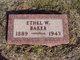 Mary Ethel <I>West</I> Baker