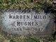 Profile photo:  Warren Milo Hughes