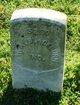 Pvt William A Blackburn