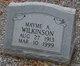 Mayme A Wilkinson