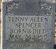 Tenny Allen Spencer