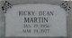 Rickey Dean <I> </I> Martin,
