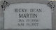 Rickey Dean Martin