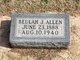 Profile photo:  Beulah J Allen