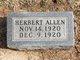Profile photo:  Herbert Allen