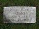 Profile photo:  Lillie Pearl Adams