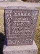 Mary Caroline <I>Dinnel</I> Bowzer