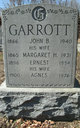 Profile photo:  Agnes <I>Laird</I> Garrott