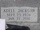 Profile photo:  Adell Annie <I>Jackson</I> Wilkes