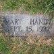 Mary Handy