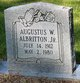 Profile photo:  Augustus W. Albritton, Jr