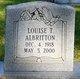 Louise T. Albritton