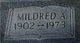 Mildred Lucille <I>Anderson</I> Bridgeman