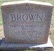 Profile photo:  Martha <I>Robinette</I> Brown