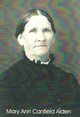 Mary Ann <I>Canfield</I> Alden