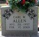 Carl Wayne Allen