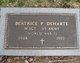 Beatrice P DeHarte
