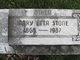 Mary Etta <I>Stone</I> Daniel