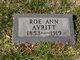 Roe Ann Avritt