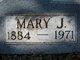 Mary Jane <I>Blodgett</I> David