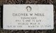Grover Wallace Neill
