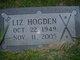Profile photo:  Lydia Elizabeth <I>Hogden</I>