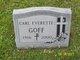 Profile photo:  Carl Everette Goff