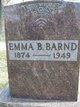 Profile photo:  Emma B. <I>Hooker</I> Barnd