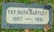 Ruth Fay <I>Murphy</I> Bartley