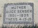 Profile photo: Mrs Alice <I>Barrett</I> Zenger