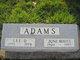 Profile photo:  June <I>Boots</I> Adams