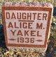 Alice Yakel