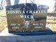 """Joshua Charles """"Josh"""" Wech"""