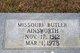 Profile photo:  Missouri <I>Butler</I> Ainsworth