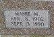 Mamie Marie <I>Hughes</I> Kemp