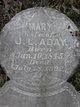 Profile photo:  Mary Louisa <I>Alderson</I> Aday