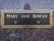Mary Jane <I>Ferrier</I> Duncan