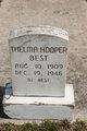 Thelma <I>Hooper</I> Best
