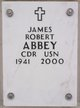 Profile photo: CDR James Robert Abbey