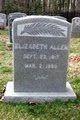 Profile photo:  Elizabeth Allen