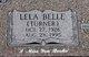 Lela Belle <I>Turner</I> Kemp