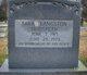 Profile photo:  Sarah Katherine <I>Langston</I> Hudspeth