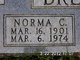 Norma Cleo <I>Widick</I> Brewster