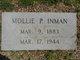 Mollie <I>Prince</I> Inman
