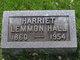 Harriet Hannah <I>Lemmon</I> Hall