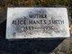 Profile photo:  Alice Hanes <I>Hanes</I> Smith