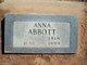 Anna Abbott