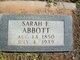 Sarah Elizabeth <I>Masten</I> Abbott