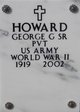 George G Howard, Sr